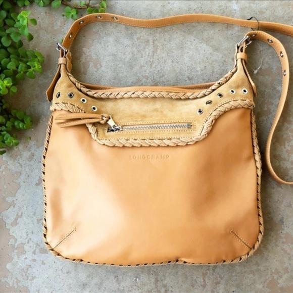 RARE Longchamp x Kate Moss Nude Glastonbury Bag